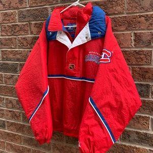 Vintage 90's Montreal Canadians NHL Starter Jacket (XL)